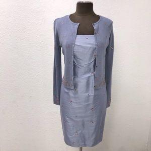 NWOT Ann Taylor Silk 2 Pc Dress Size 2